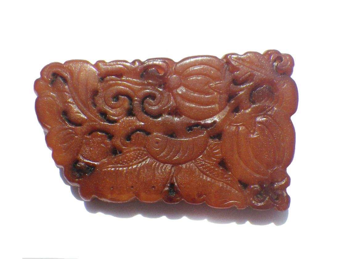 Chinese Antique Bee's Wax Butterfly