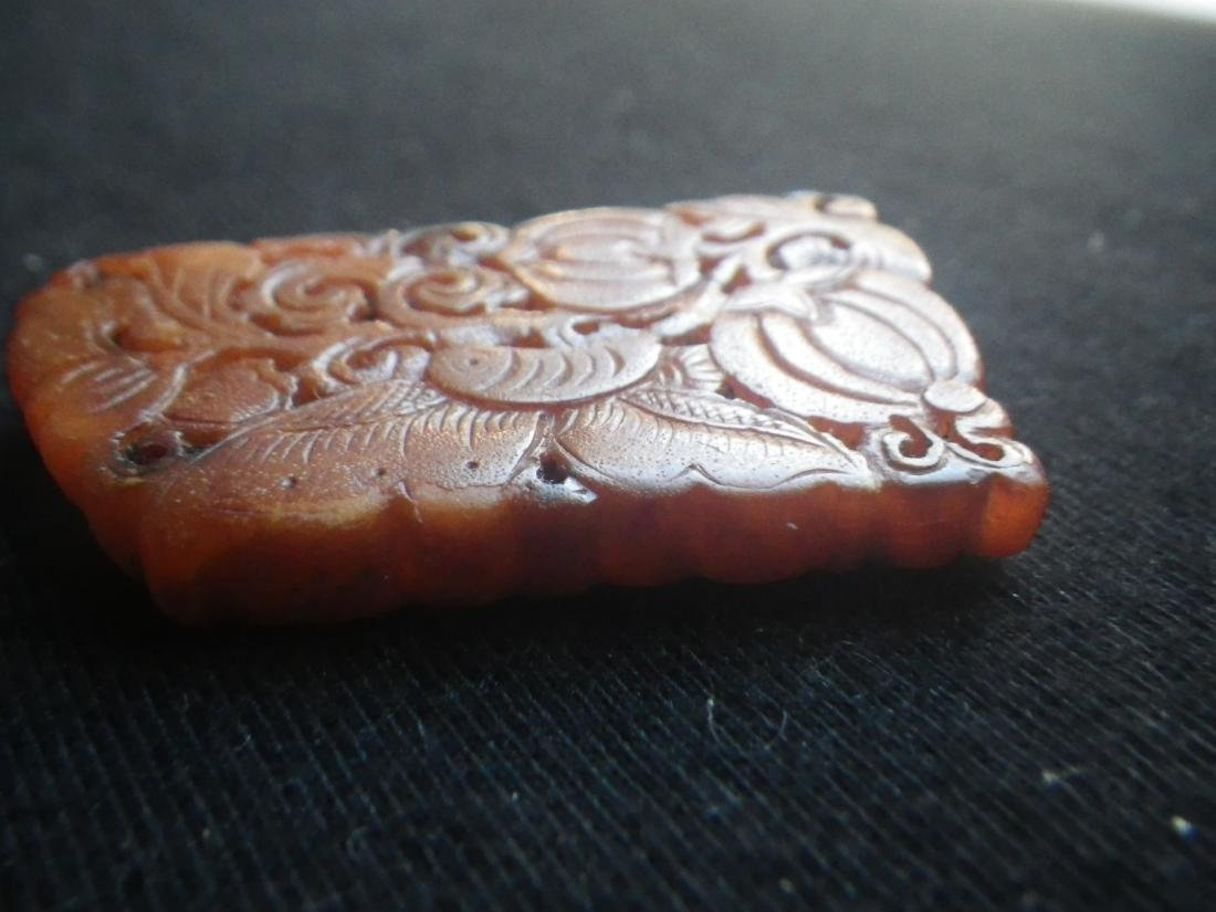 Chinese Antique Bee's Wax Butterfly - 2