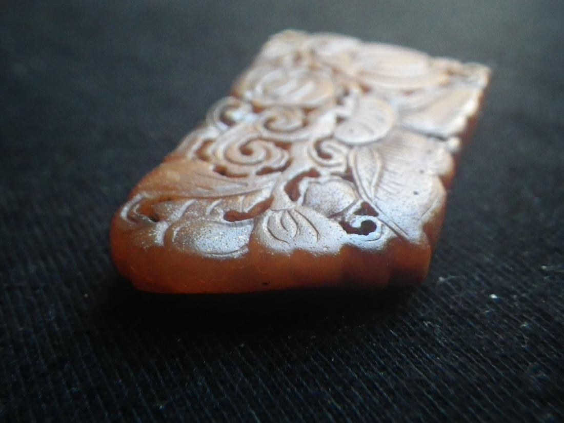 Chinese Antique Bee's Wax Butterfly - 3