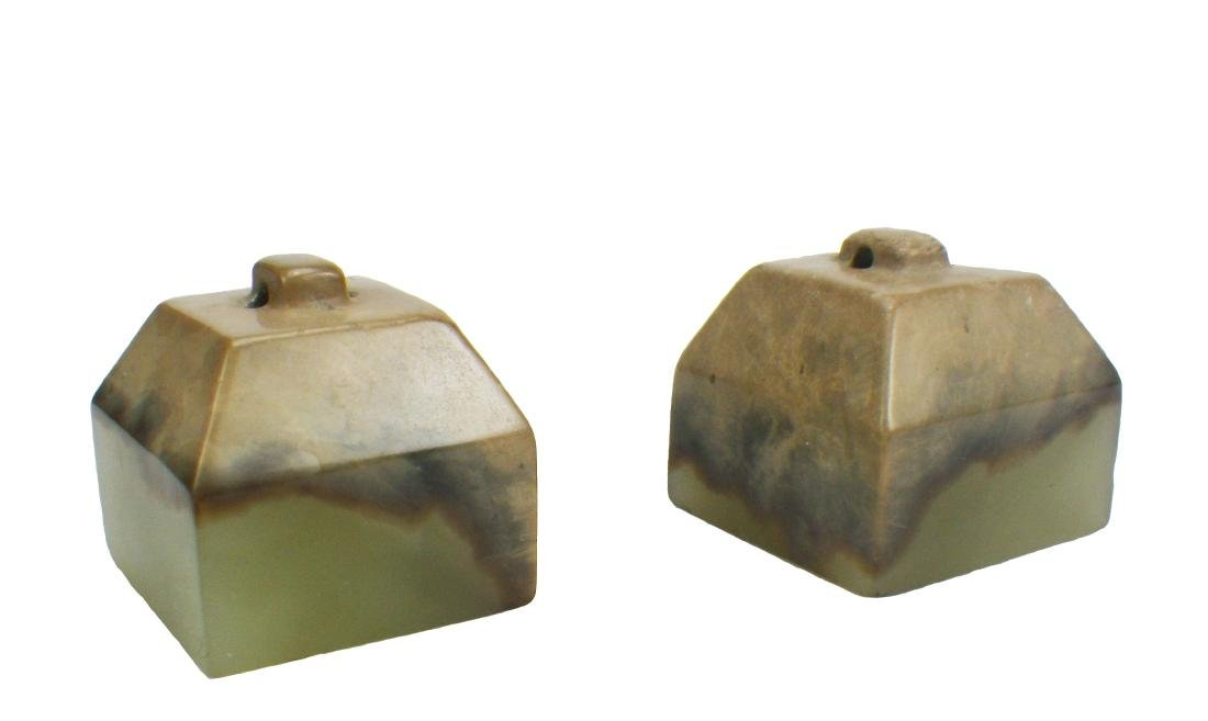 Chinese Yellow Jade Carved Seal