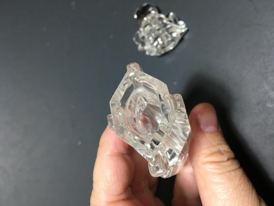 Chinese Crystal Bottle - 5