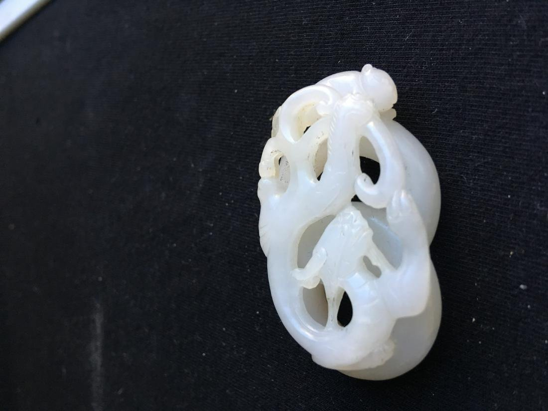 Chinese Jade Carved Dragon - 5