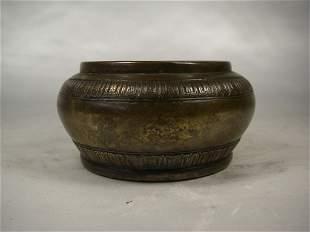 19th century Chinese bronze incense burner