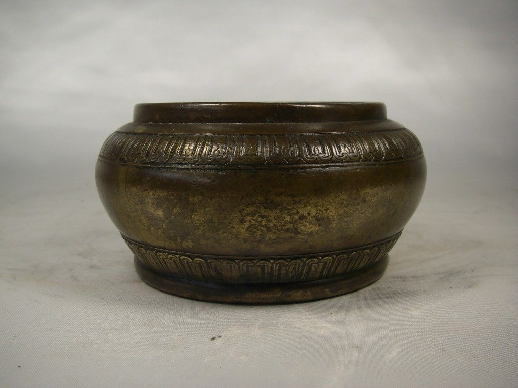 19th century Chinese bronze incense burner