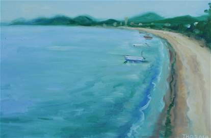 Chinese Oil Painting: The Gulf