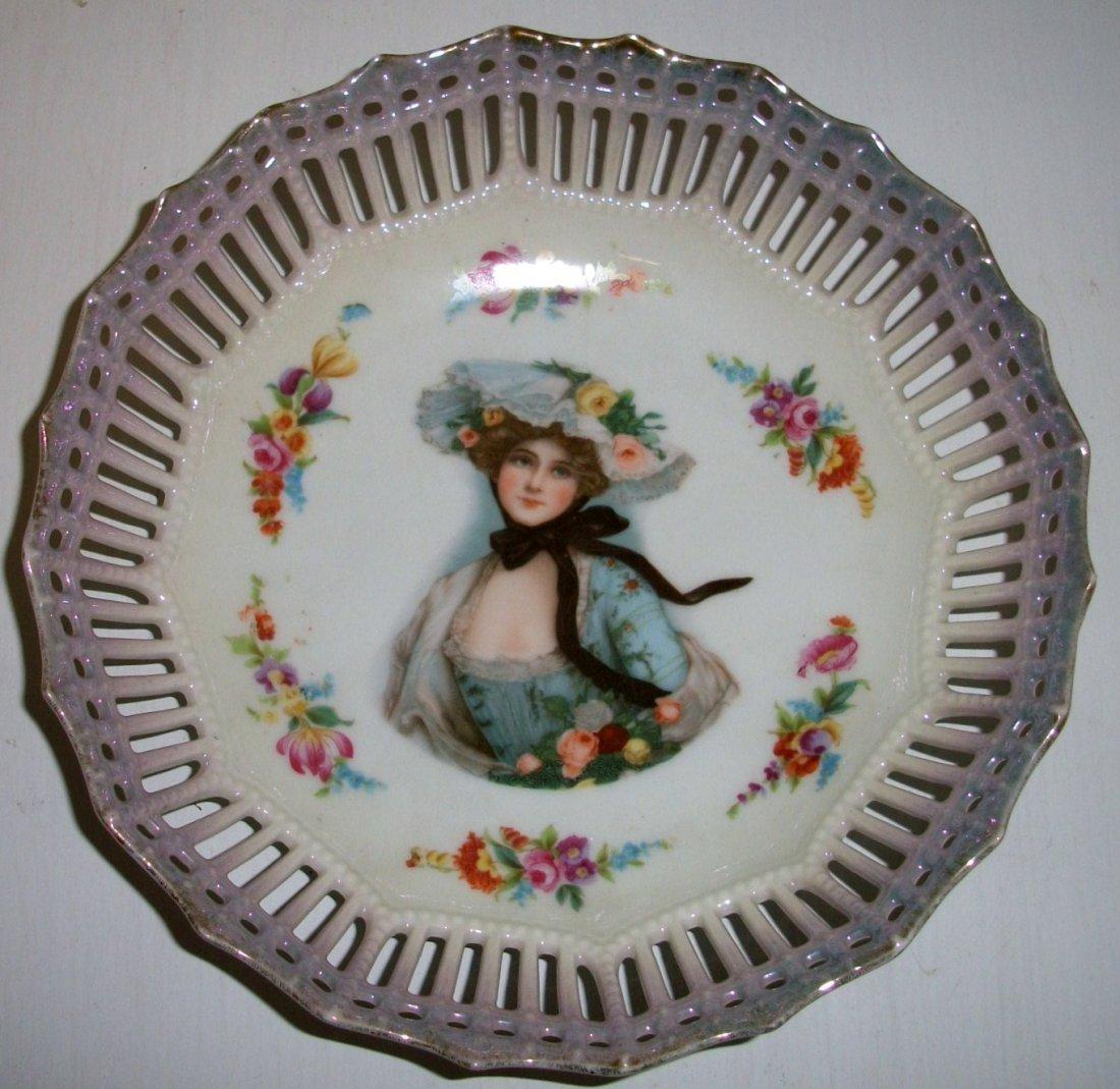 3: Gibson Girl Portrait Bowl