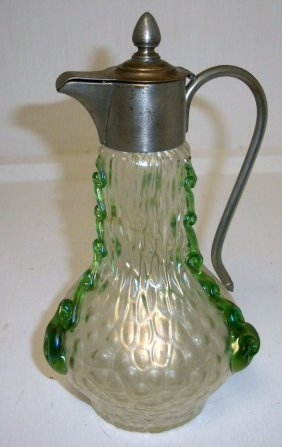 Iridescent Syrup Pitcher