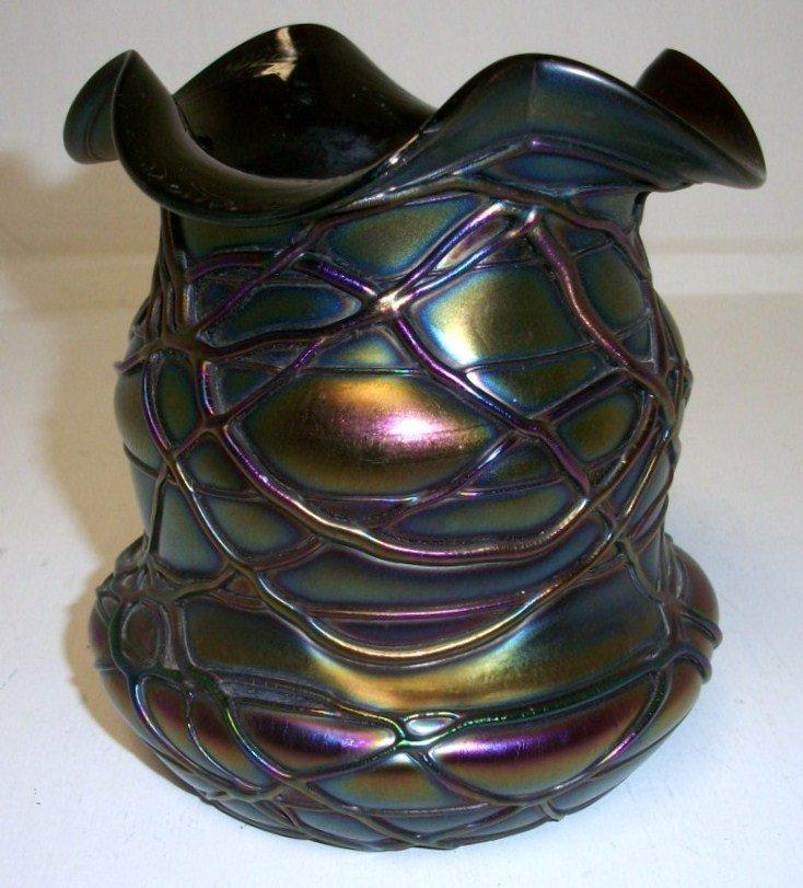 23: Pallme-Koenig art glass vase