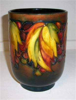 Moorecroft Flambe Vase