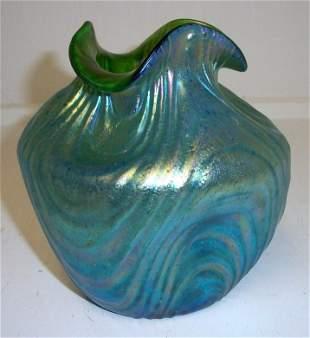 Loetz Art Glass vase