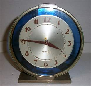 Mid Century Modern Art Deco Clock