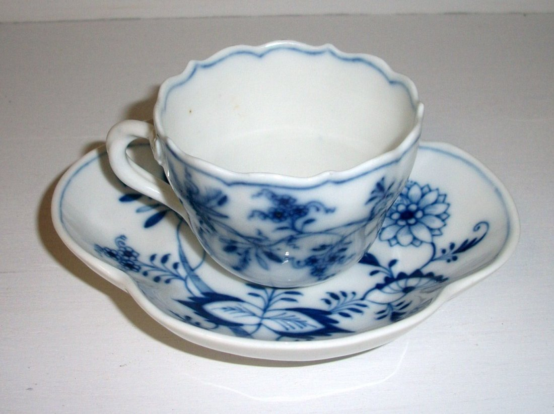 Old Meissen Cup and Saucer