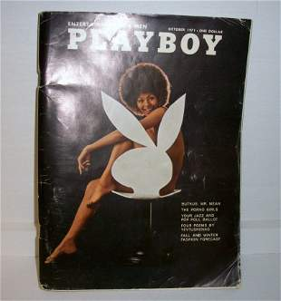 African American Cover Playboy 1971