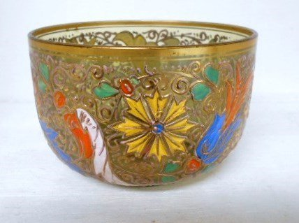 Moser Enameled Bowl