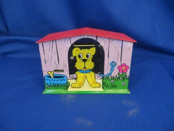 Dog House Coin Bank