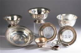 763: COLLECTION AMERICAN STERLING HOLLOWWARE, 20th cent