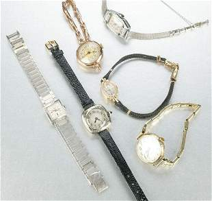 A COLLECTION OF LADIES WRISTWATCHES.