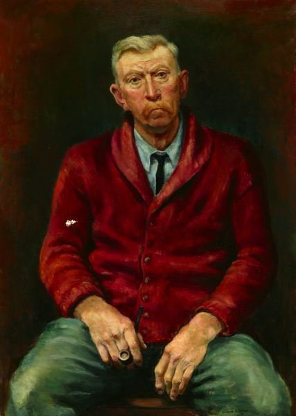 1560: ARNOLD BLANCH. (American, 1896-1968). PORTRAIT OF