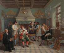 1699 PAUL JOSEPH LEYENDECKER French b 1842 THE BA