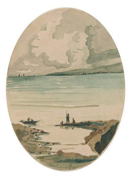 839: MAXIMILIEN VOLOCHINE (Russian, 1877-1932). KOKTEBE