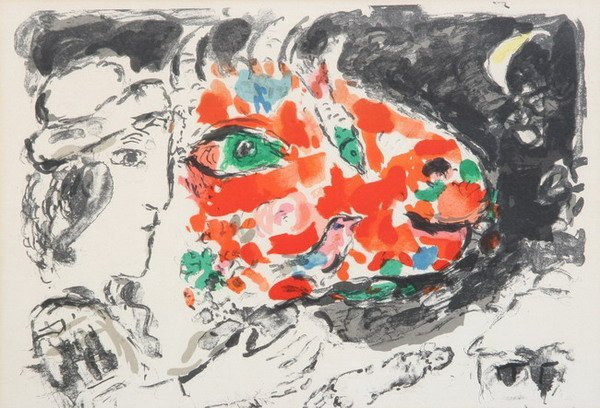 754: MARC CHAGALL (French, 1887-1985). APRES L'HIVER, d