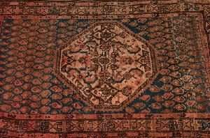 SEMI ANTIQUE PERSIAN HAMADAN RUG, 6ft. 1in. x 3ft