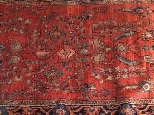A SAROUK MAHAL RUG, 4 ft. 3 in. x 6 ft. 3 in.