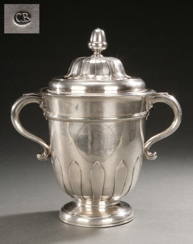 93: AN IMPORTANT AMERICAN SILVER TWO-HANDLED
