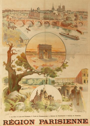 686: ALEXANDRE LUNOIS (Fr., 1863 - 1916).   R