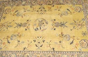 924: A CHINESE RUG,  7ft. 11in. x 11ft. 8in.