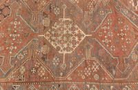 701: A PERSIAN GHASHGAY RUG,  4ft. x 6ft.