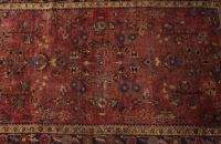 A PAINTED SAROUK RUG, circa 1920. 4 ft. 2in. x 6f