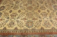 712: A TURKISH RUG,  9ft. 9in. x 12ft. 10in.