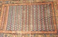713: A SARABAND TYPE RUG,  4ft. x 5ft. 8in.