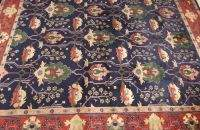 AN INDO MAHAL RUG, 8ft. 4in. x 10ft. 5in.