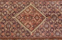 719: A PERSIAN HAMADAN RUNNER,  3ft. 5in. x 10ft.