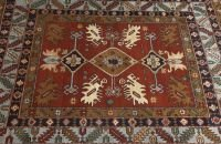 720: A RUSSIAN LORI RUG,  5ft. 2in. x 6ft. 9in.