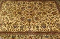 722: A PERSIAN TABRIZ RUG,  8ft. 4in. x 11ft. 3in.
