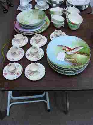 A Collection of Assorted Porcelain. Compri