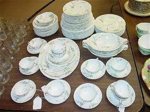 A Theodore Haviland Limoges Part Luncheon