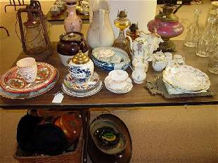 A Collection of Porcelain, Including Limog