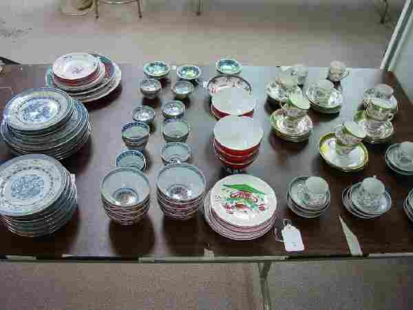 A Collection of Asian Porcelain. Comprisin