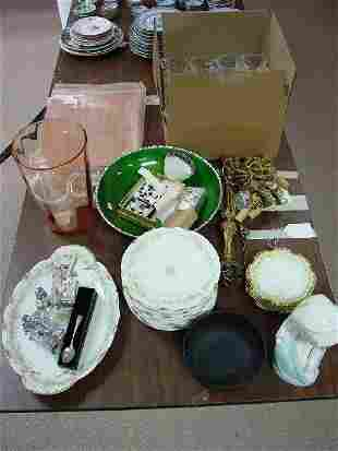 A Collection of Assorted Porcelain, Jewelr
