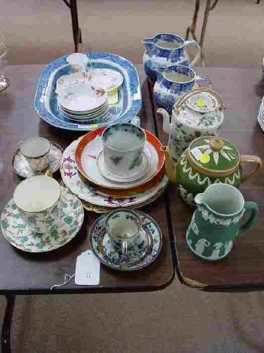 A Collection of Assorted Porcelain. Compr
