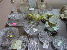 16: A Collection of Assorted Glass and Porcel