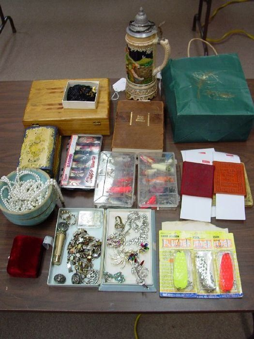A Collection of Costume Jewelry, Fishing