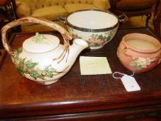 187: Two American Pottery Pieces. Including:
