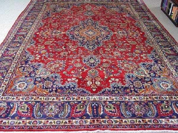 A Mashad Rug, Approx. 12 ft. 10 in. x 9