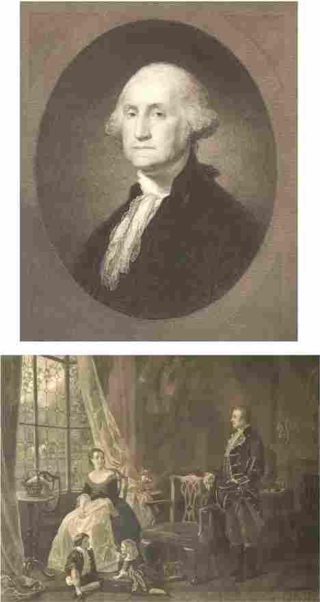 94: TWO PRINTS OF GEORGE WASHINGTON. William E. Marshal