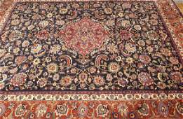 713: A PERSIAN MASHAD RUG, Approx. 9 ft. 6 in. x 12 ft